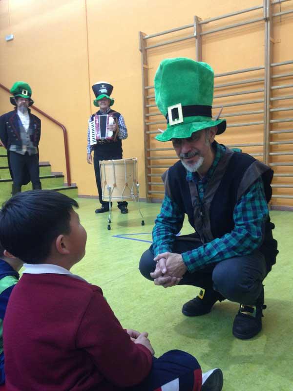 Celebración de St Patrick 2018