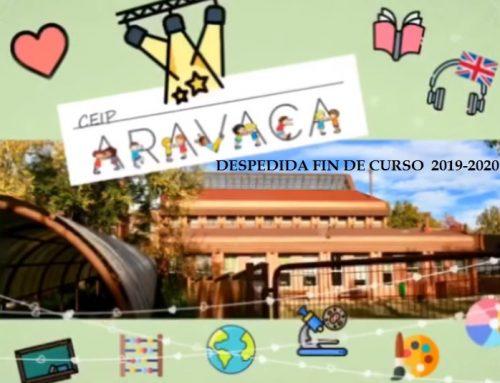 DESPEDIDA PROFES CEIP ARAVACA (19 de junio de 2020)