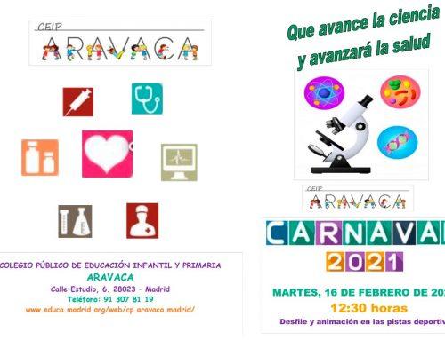 MARTES DE CARNAVAL, MUY ESPECIAL (16 de febrero de 2021)